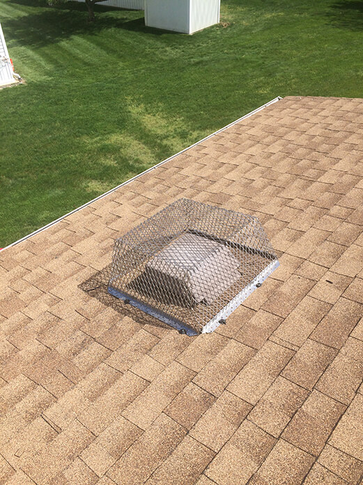capitol exterminating ATTIC FAN AND ROOF VENT CORNERS